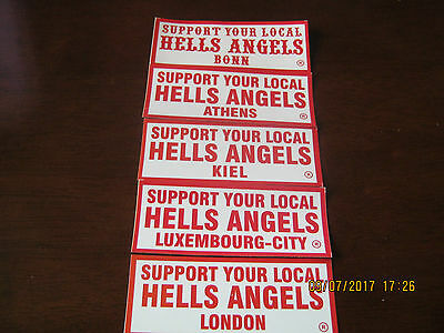 Hells Angels Mc Affa Deathead Worldwide Support 81 Patch 666 Aufkleber Nomads 77