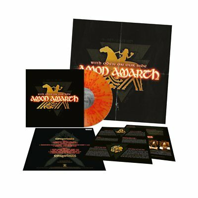 AMON AMARTH With Oden On Our Side FLAME SPLATTER Vinyl [LTD200] *EXCLUSIVE*