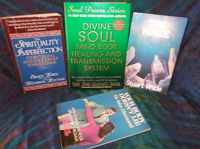 "Look!bulk Newage/ Esoteric/ Spiritual/ Metaphysical Booklot-""healing"" Lot#61"