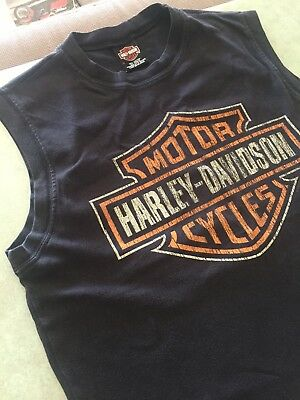 Harley Davidson Muscle Top , Size L
