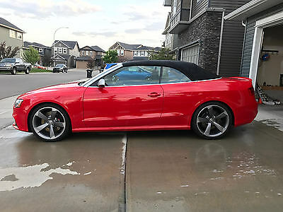 2013 Audi RS5 Base Convertible 2-Door 2013 Audi RS5 Convertible