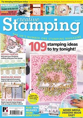 Creative Stamping Magazine Issue 47 w. Seasonal Stamps & Altenew Layering Stamps