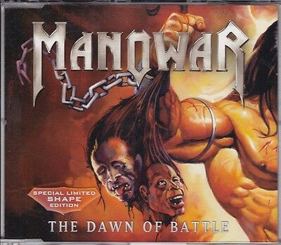 Manowar - The Dawn of Battle - Limited Maxi CD Shape Version 3 Tracks