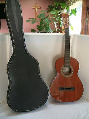 Vintage SEVILLE CLASSICAL GUITAR WITH CASE