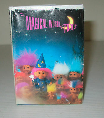 Vintage Troll Doll Magical World Trolls Brochure Colour Fold Out Russ Reference