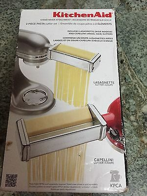 KitchenAid KPCA Pasta Cutters Set Attachments for Stand Mixers