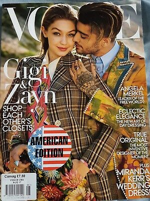 Vogue American Edition  Issue Aug 17