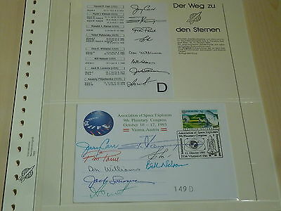 A00365 Planetary Congress 1993 Vienna 69 signatures on 8 covers only 300 exist