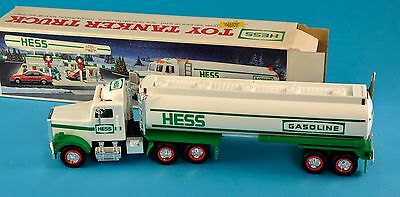 Hess Toy Tanker Truck 1990 New In Box NR