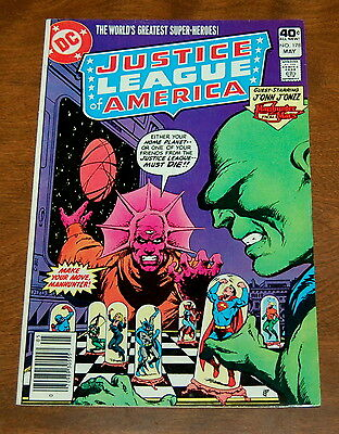 Justice League of America (1960 1st Series) #178 VF- Manhunter From Mars DC