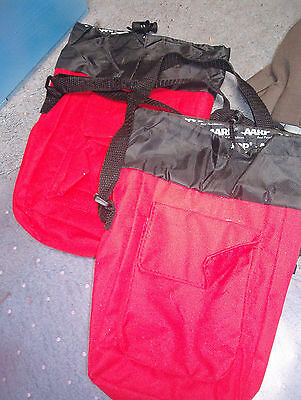 New Red & Black Cooler Bag With Strap