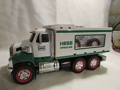 2008 Hess Toy Truck And Front Loader Works Ok Has Been Played With