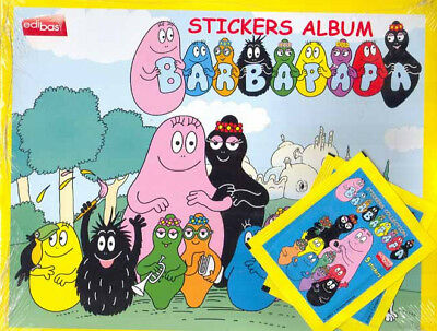 ALBUM BARBAPAPA + 210 stickers sous blister Image booster collection