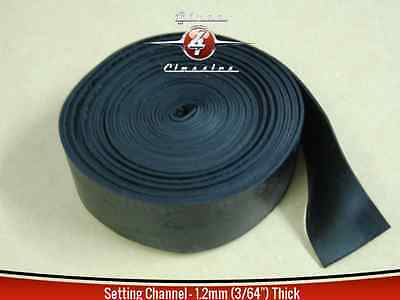Glass setting tape / channel 1.2mm thick x 5m Suited to Hot Rod, Classic,