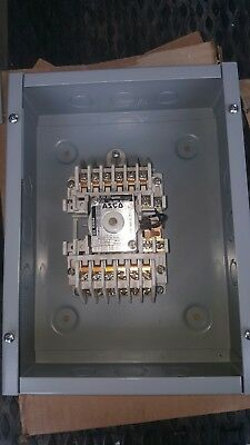 ASCO 917: 122031C 12pole  30 amp  CONTACTOR WITH ENCLOSURE  FREE SHIPPING!