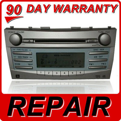 REPAIR SERVICE ONLY Toyota Camry Radio CD Player 6 Disc Changer CD Player FIX