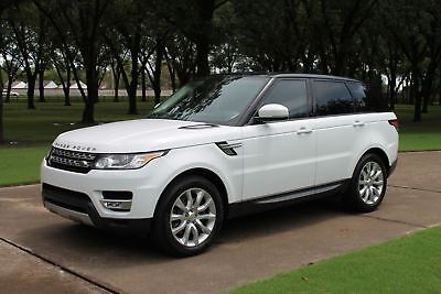 """2014 Land Rover Range Rover Sport HSE 7 Passenger Seating One Owner Perfect Carfax HSE 3rd Row Seat 20"""" Michelins MSRP New $73125"""