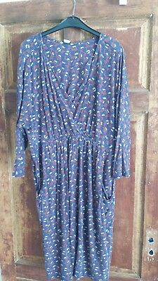 mamas and papas size 14 nursing dress