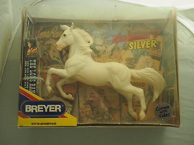 Breyer Horse The Lone Ranger's Silver|#574|Trad.|NIB|With VHS|