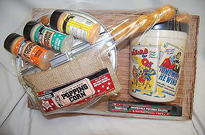 Theater Popcorn Products ALL-STAR POPCORN COLLECTION SET #88A (NIB) (#M4369)