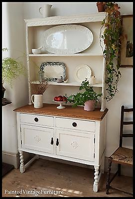 Beautiful Antique Painted Vintage Dresser Farrow & Ball
