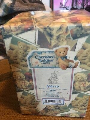 "Cherished Teddies 'Natalie' ""You Make Me Smile From Ear"" #534110 1999"