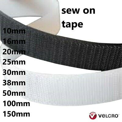 VELCRO® Brand Sew on tape Hook and Loop Tape 20mm,25mm,50mm wide, Stitch on tape