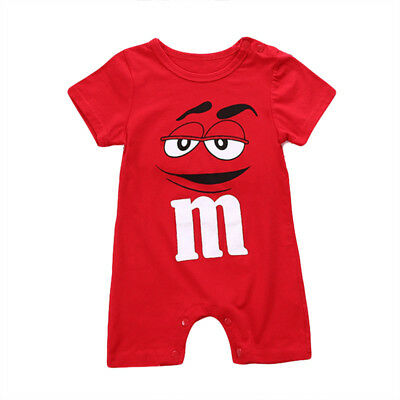 Baby Boys Girls Toddler Infant Newborn Romper Jumpsuit Bodysuit Clothes Outfits