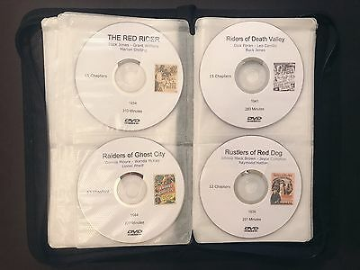 Giant Serial Collection All 72 Western Sound Movie Cliffhangers on DVD in Case