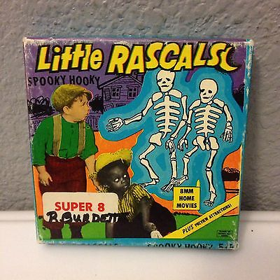 Vtg Little Rascals Spooky Hooky Super 8 Movie Ken Films
