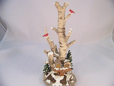Dept 56 Heritage New England Birch Tree Cluster with Two Mailboxes 52631