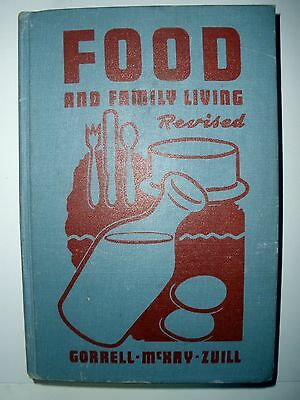 Food and Family Living, revised/1947/hardcover