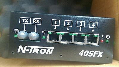 NEW! RED LION / N-TRON ETHERNET SWITCH 405fx, network