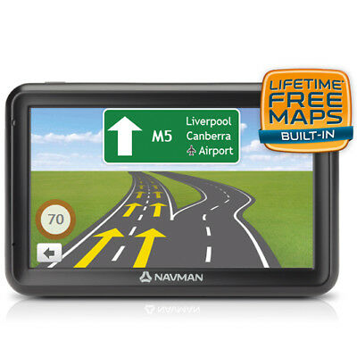 "New Navman - 5"" GPS System - MOVE85LM from Bing Lee"
