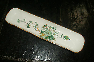 Vintage Crown Staffordshire England Fine Bone China 'kowloon' Design Tray / Dish