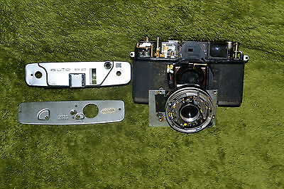 Vintage Konica Auto S2 35mm Film Camera For Parts or Repair
