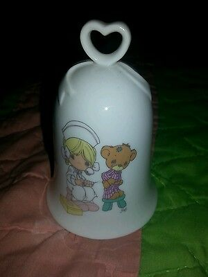 Precious Moments Bell, Love Beareth All Things 1994, Collector Bell