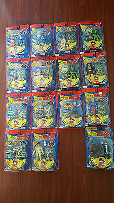 Dragon Ball Z action Figure Lot of 15 Irwin Toys Sealed New