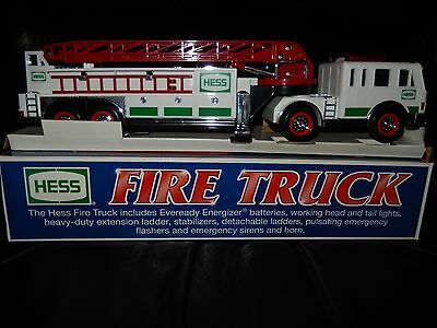 2000 Hess Fire Truck - Case Of 6 - New Unopened