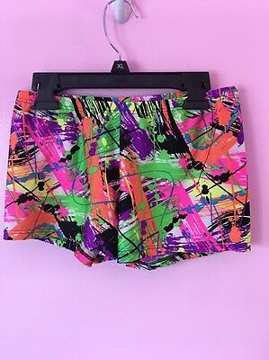 Women's Size Large Body Wrappers Dance Shorts