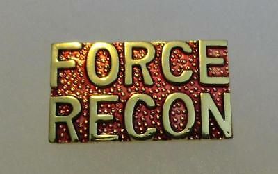 Marine Corps Force Recon  - Pin