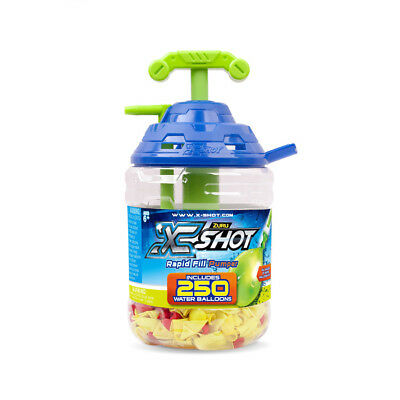 X-Shot Rapid Fill And Easy Tie Water Balloon Pump - NEW