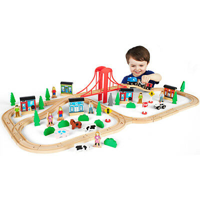 Imaginarium 81-Piece Mega Value Train Set - NEW