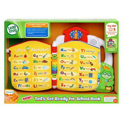 LeapFrog Tad's Get Ready for Preschool Book - NEW