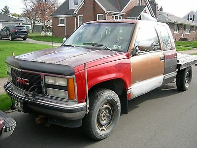 1993 GMC Sierra 1500  1993 GMC Sierra, 4x4, with a Fisher snow plow, needs work. as is