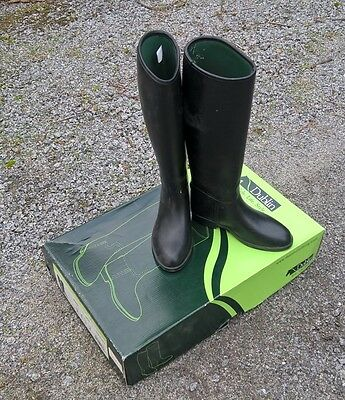 Dublin Universal Tall Riding Boots - Black Size 4au Horse Riding