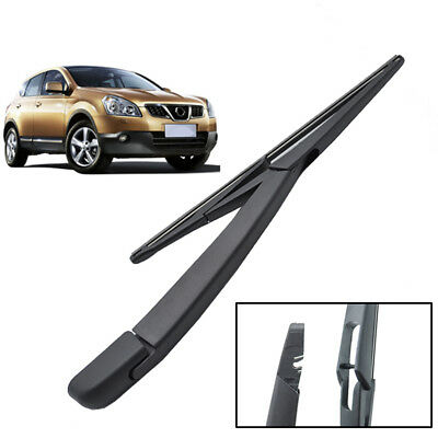 Rear Window Windscreen Wiper Arm Blade Set Kit For Nissan Qashqai / Qashqai 2 I