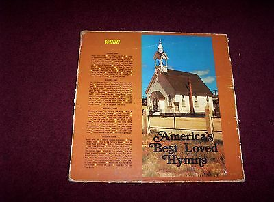 America's Best Loved Hymns,word Records 4 Lp Box Set,w/book,see Details