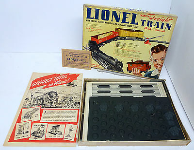 MM Lionel #50 1943 Wartime Cardboard Freight Paper Train Complete MINT OB