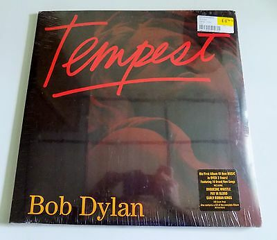 Bob Dylan Tempest NEW sealed vinyl LP 180 gram record with CD of complete album